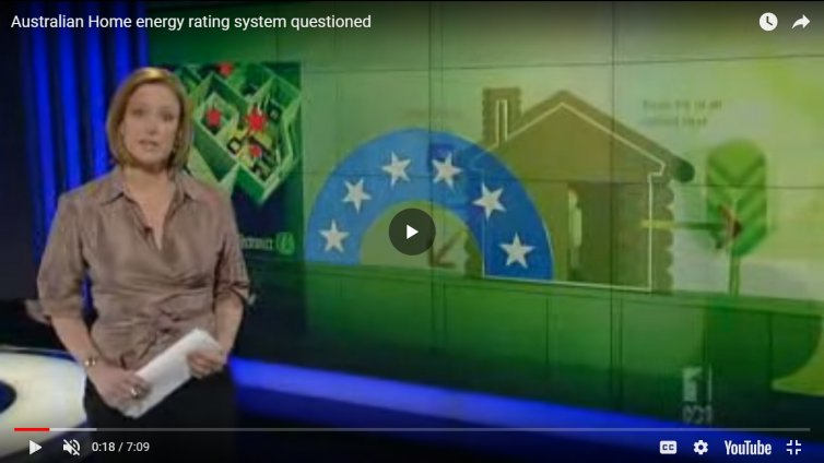 Australian Home Energy Rating System Questioned