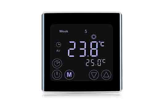 Simple 7 Day Programmable thermostat controller for bathrooms
